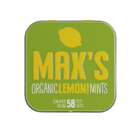 Max's Organic Miętuski cytrynowe Lemon Mints 35g BIO