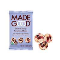 Made Good Mini granola kulki czerwone owoce 24g BIO